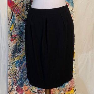 Ann Taylor black pencil skirt.